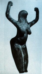 BirdHeaded Snake Goddess