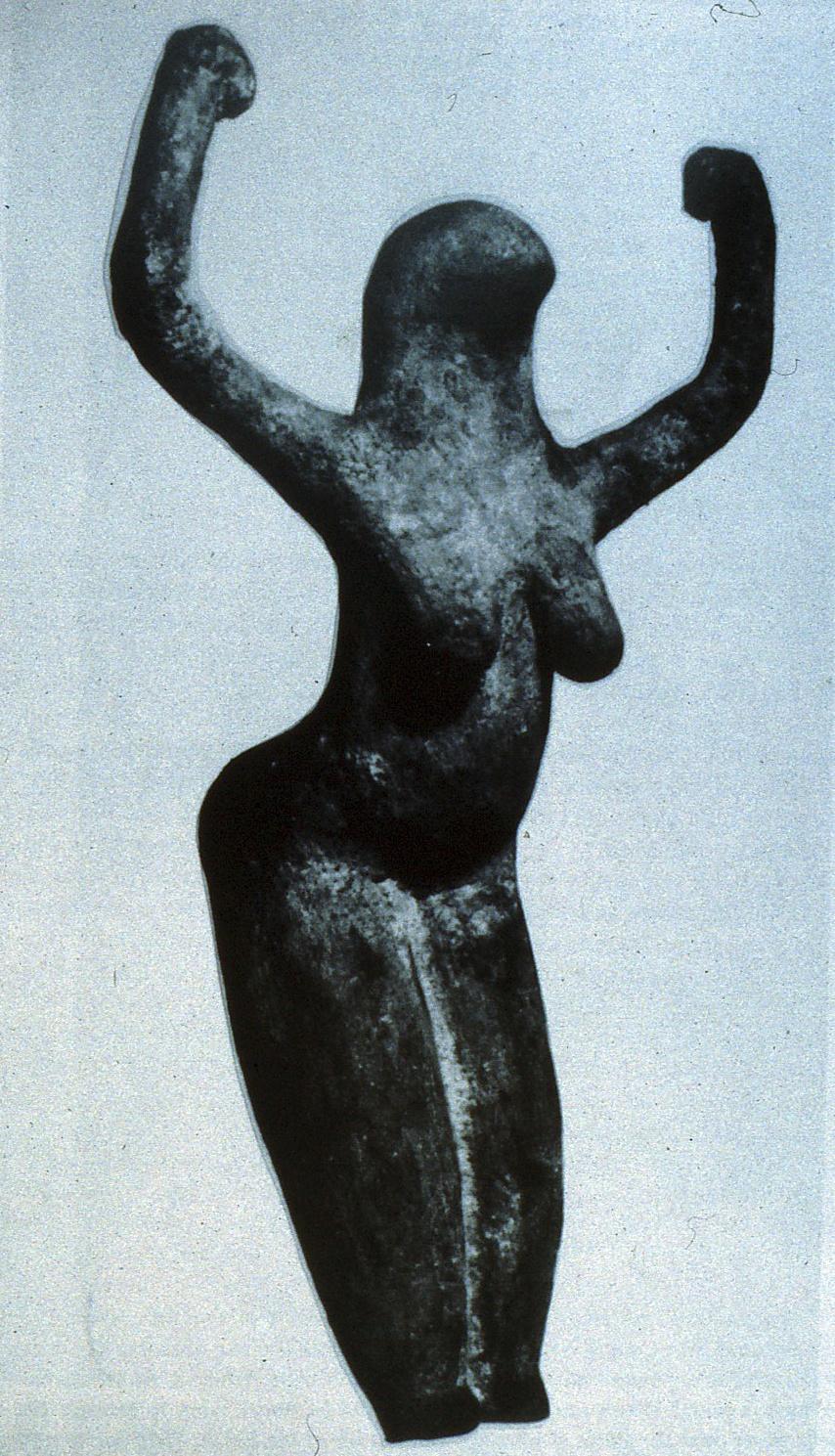 BirdHeaded Snake Goddess