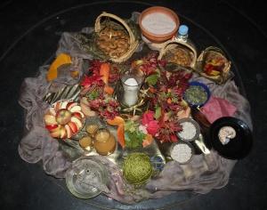 Samhain altar - MoonCourt