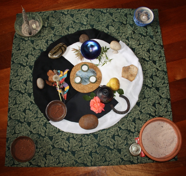 Womb of Gaia altar N.H.