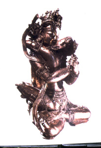 "- Visvatara and Vajrasattva 1800 C.E. (""Sacred Sexuality"" p.74). Tibetan Goddess and God in Union"