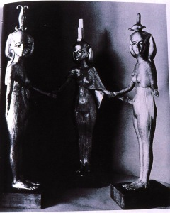 Egyptian Triple Goddess