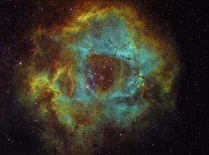 Rosette Nebula - a star nursery