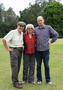 Rob, Glenys and Taffy 2016