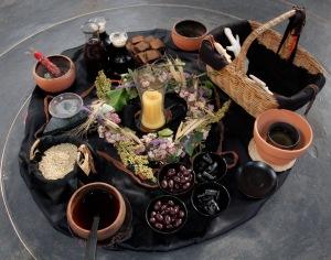 Lammas altar 2015