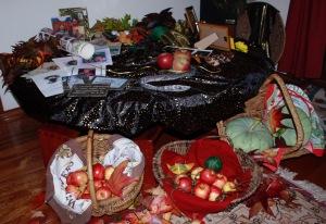 Samhain table